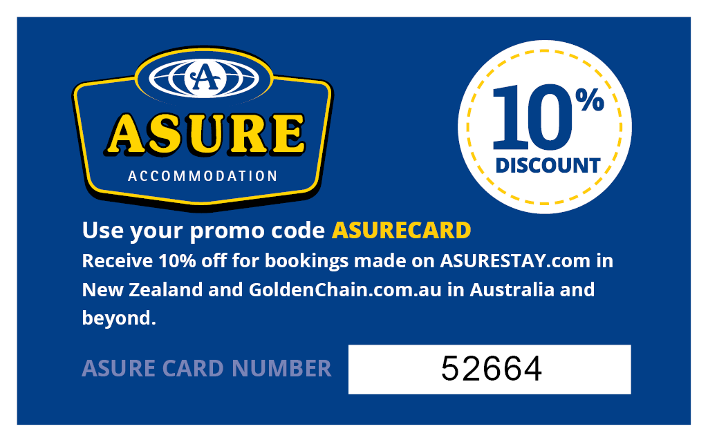 10% off Use your ASURECARD